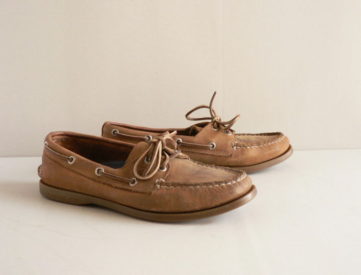 Women's Brown Boat Shoes by Sperry Top-Sider Size 8 1/2