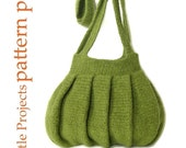 EASY Pleats Purse I - Crochet Version - Pattern PDF