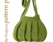 EASY Pleats Purse I - Crochet Version - Pattern PDF
