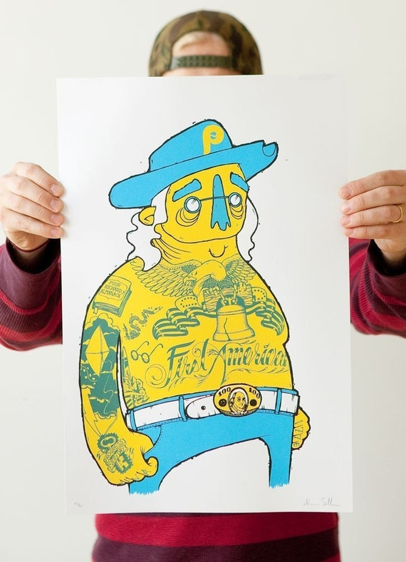 First American limited edition screenprint
