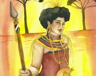 Masai Warrior Goddess