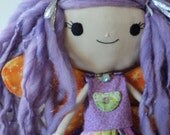 Dilly Dally the Good Good Faery - Starshine Raggedy Fairy Doll