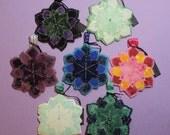 Reserved - Special Order 7 Custom Faery Mandala Ornaments