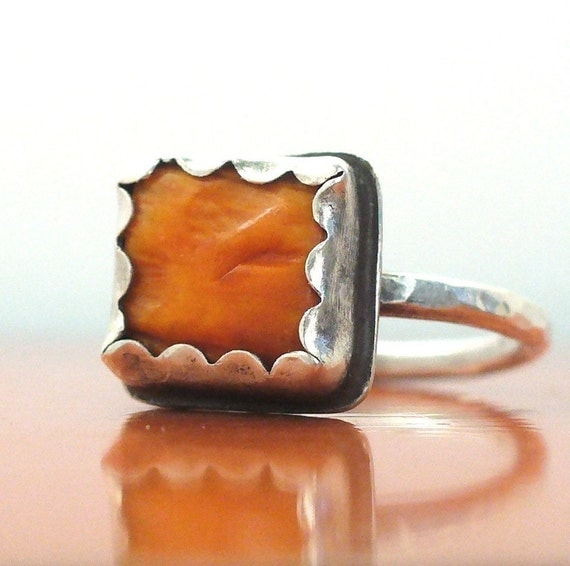 Bumpy Road Ring - Made to Order