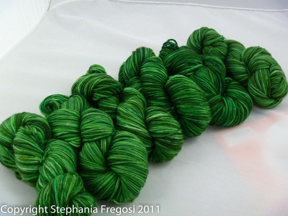grass - merino worsted