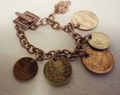 Foreign Coin Bracelet 2426