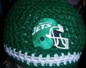 NEW YORK JETS HAT WITH DECAL