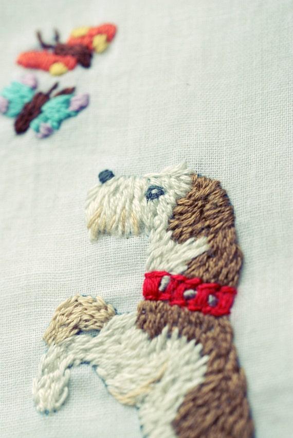 Dog - Decor Art Hankie
