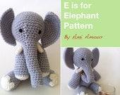 Elephant Crochet Pattern Elephant Amigurumi Pattern PDF