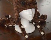 Realistic Octopus Hat Crochet