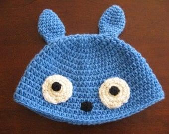 Blue Totoro Hat