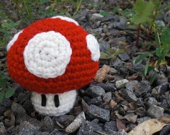 Power-up Mario Mushroom