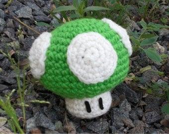 1-UP Green Mario Mushroom