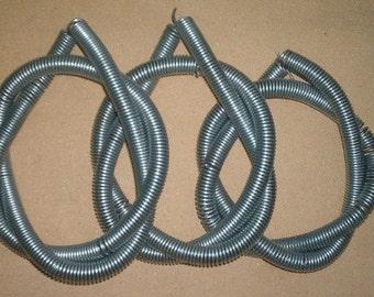 Kilo of uncut steel maille rings