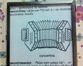 DISCOUNT Dictionary Charm - Concertina