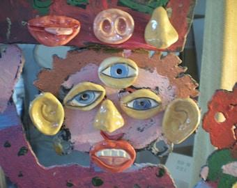 We pick 10 Funny Face Fridge magnets Sampler SALE PRICED