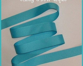 Turquoise Grosgrain Ribbon 5 yards 7/8 wide cbseveneight
