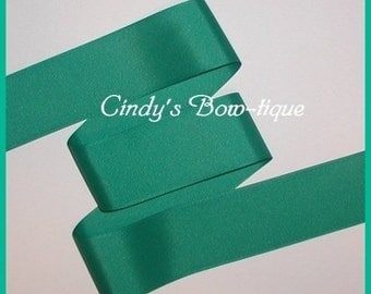 Parrot Green Grosgrain Ribbon Offray 5 yards 2 1/4 inch wide color 583 cbtwotwofive