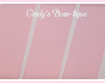 Light Pink Ribbon Grosgrain Offray 5 yards 2 1/4 inch wide cbtwotwofive