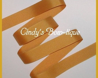 Dark Gold Grosgrain Ribbon Made in USA Offray 6 yards 7/8 wide cbseveneight
