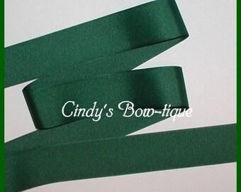 Dark Green Ribbon Grosgrain Forest Hunter Offray 1 1/2 wide cbonefive