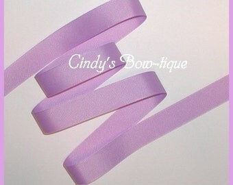 Light Lavender Ribbon Grosgrain Pastel Orchid 5 yards 7/8 inches wide cbseveneight
