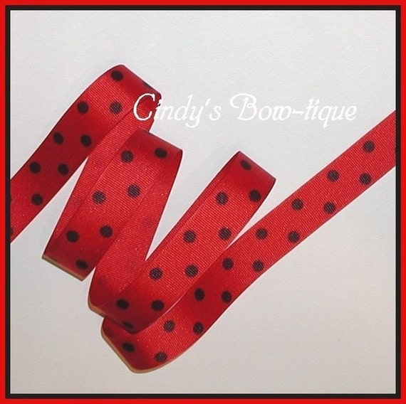 dotted red ribbon and - photo #33