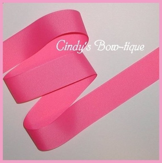 Hot Fruitpunch Pink Grosgrain Ribbon Fruit Punch 5 y 1 1/2  wide Offray cbonefive