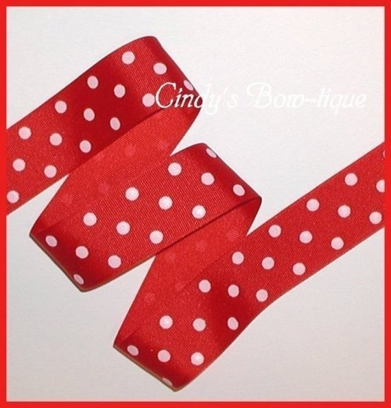 dotted red ribbon and - photo #28