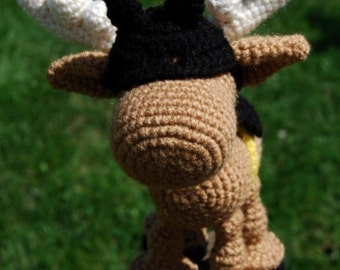PDF CROCHET PATTERN - Batmoose Costume