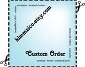 Custom Order for VIOLET99
