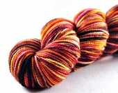 PERSIMMON superwash merino High Twist sock Free U.S. Shipping