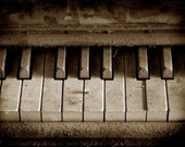 SALE - piano -- 8x10 print