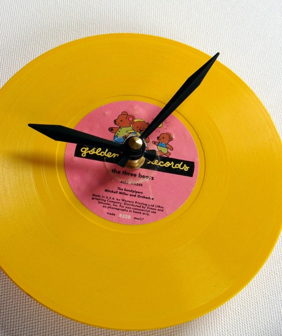 RESERVED FOR JESS The Three Bears Vintage Little Golden Record
