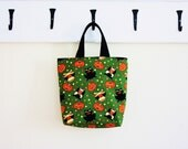 Trick or Treat Halloween Tote Green