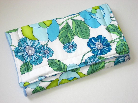 Bright Floral Changing Pad