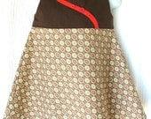 Brown retro toddler dress - Size 2T - EtsyKids