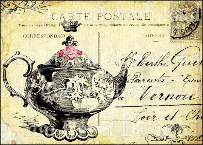 clipart tea party invitation - photo #16