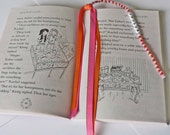 Little or Young Girls Beaded Bookmark PERSONALIZED You choose the name and colors