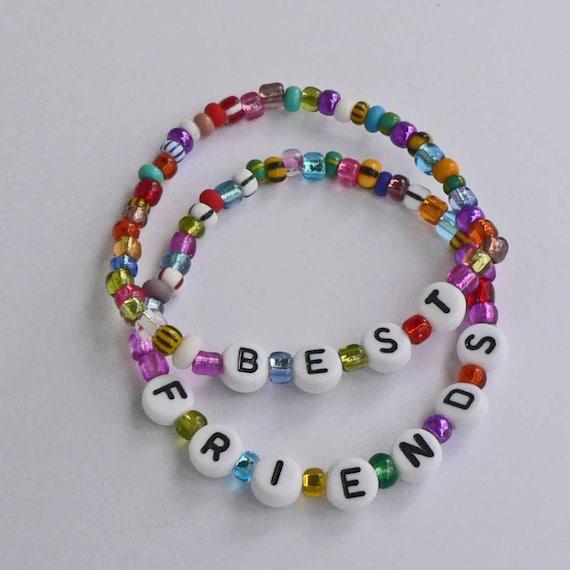 Children's Jewelry Bracelets BEST FRIEND BFF Set Great Gift or Party Favor