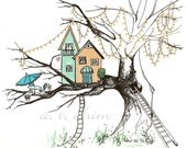 Tree House - Small Print