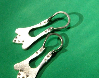 Sterling Silver Chisana Petal Earrings