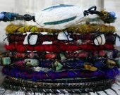 Boho Tribal Bangles-Spice, Set of 14