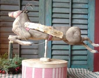Primitive Believe in the Magic Reindeer Instant Download EPattern
