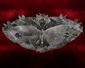 "40"" Wide Metal Butterfly Sculpture"