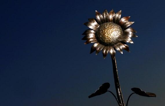 """16"""" Tall Metal Sunflower"""