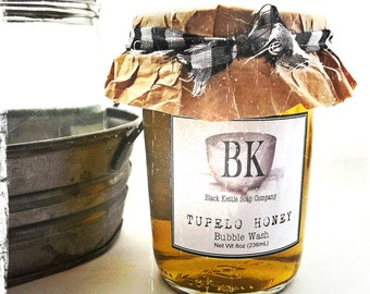 TUPELO HONEY Body Wash Bubble Bath ... Black Kettle