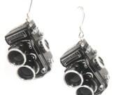 Rolleiflex Earrings