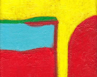 SALE Contemporary Abstract Art Painting - Misguided