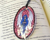 Stain Glass Angel Bookmark